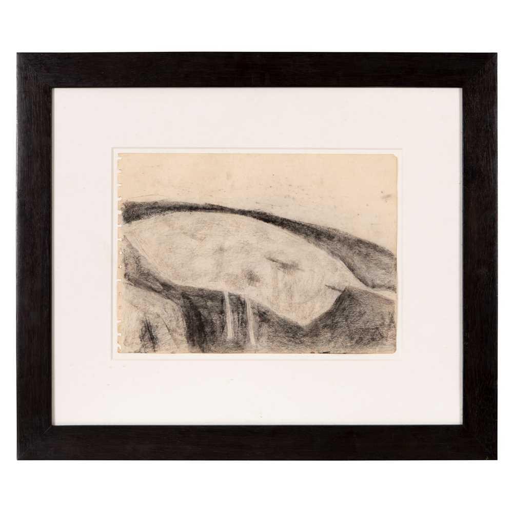 William Scott C.B.E., R.A. (British 1913-1989) Figure into Landscape, circa 1960 - Image 2 of 3