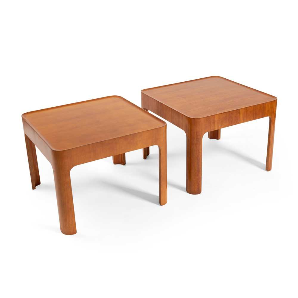 Isamu Kenmochi (Japanese 1912-1971) for Tendō Mokkō Japan Two Occasional Tables, circa 1966 - Image 2 of 2