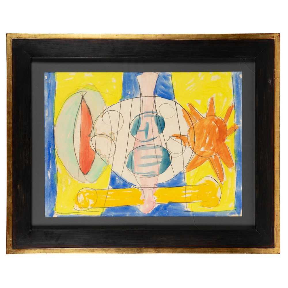 Gerald Wilde (British 1905-1986) Cosmic Man, Series B, No. 46 - Image 2 of 3