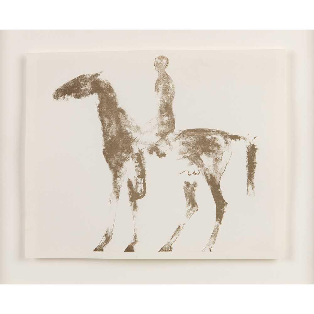 Dame Elisabeth Frink (British 1930-1993) Horse and Rider, 1970
