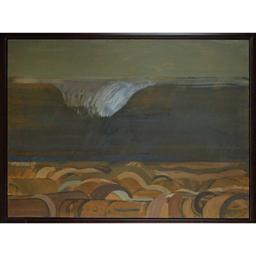 Karl Weschke (German 1925-2005) The Wave, 1974 - Image 2 of 2