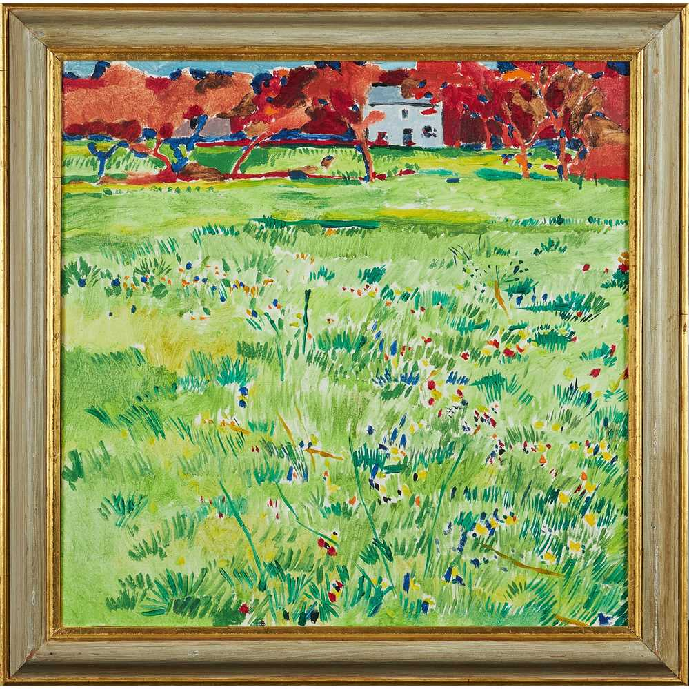 Philip Sutton R.A. (British 1928-) The Field at Manobier, 1984 - Image 2 of 2