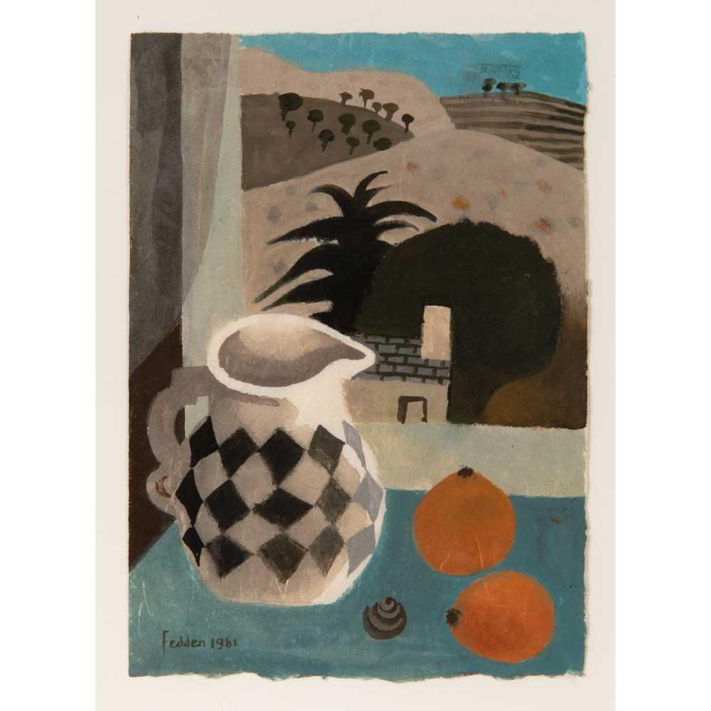 Mary Fedden O.B.E., R.A., R.W.A. (British 1915-2012) Jug and Oranges, 1981
