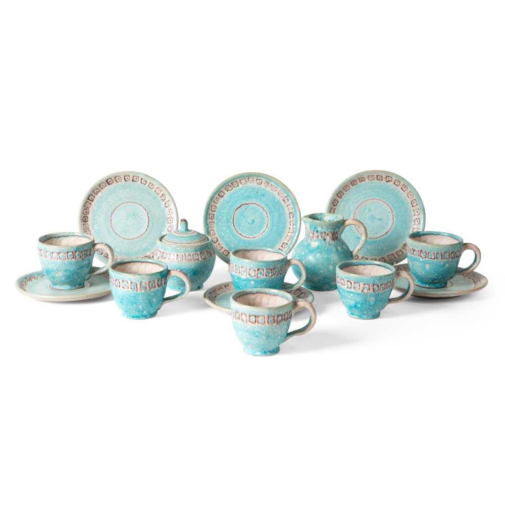 Guido Gambone (Italian 1909-1969) Tea / Coffee Set, 1950s