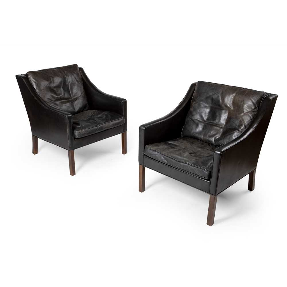 Børge Mogensen (Danish 1914-1972) for Fredericia Pair of Armchairs, designed 1963 - Image 2 of 2