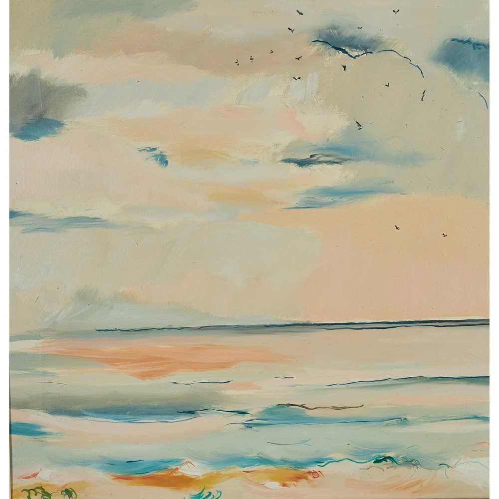 Philip Sutton R.A. (British 1928-) The Sea at Aldeburgh, 1980