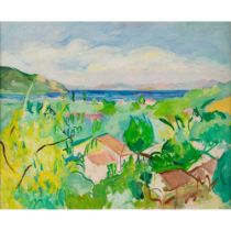 Edward Wolfe R.A. (South African/British 1897-1982) Thassos, Greece