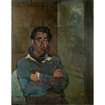 Christopher Chamberlain (British 1918-1984) Mr Hedges, 1959