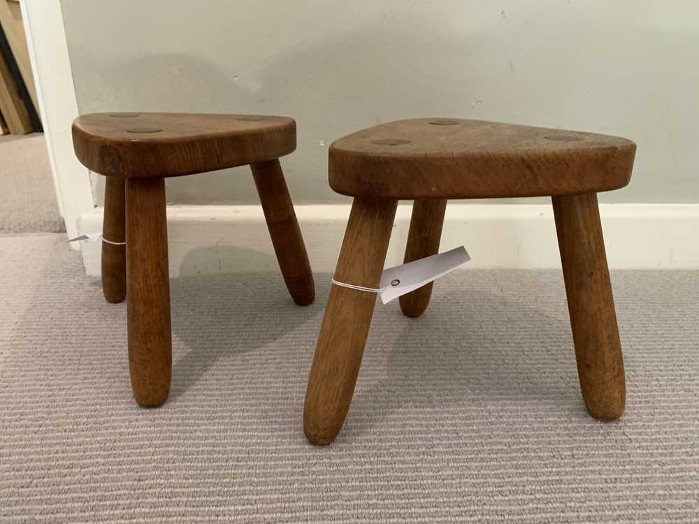 Robin Nance (British 1907-1990) of St Ives Pair of Stools - Image 2 of 10