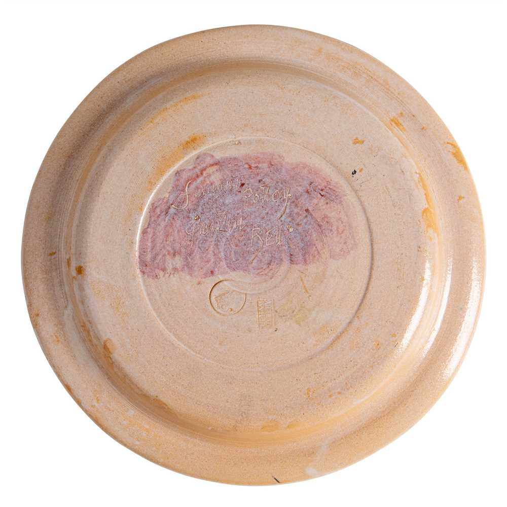 Quentin Bell (British 1910-1996) for Fulham Pottery Plate - Image 2 of 8