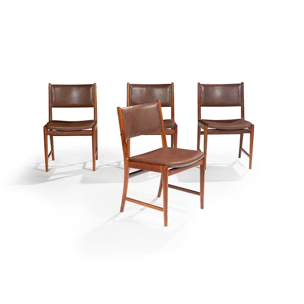 Kai Lyngfeldt Larsen (Danish 1920-2001) for Vejen Dining Table and Set of Six Chairs - Image 2 of 26