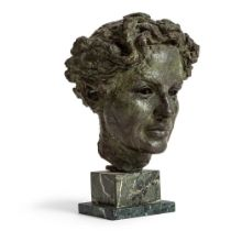 José Manuel De Alberdi (Spanish 1922-2008) Portrait Head of a Man, 1954
