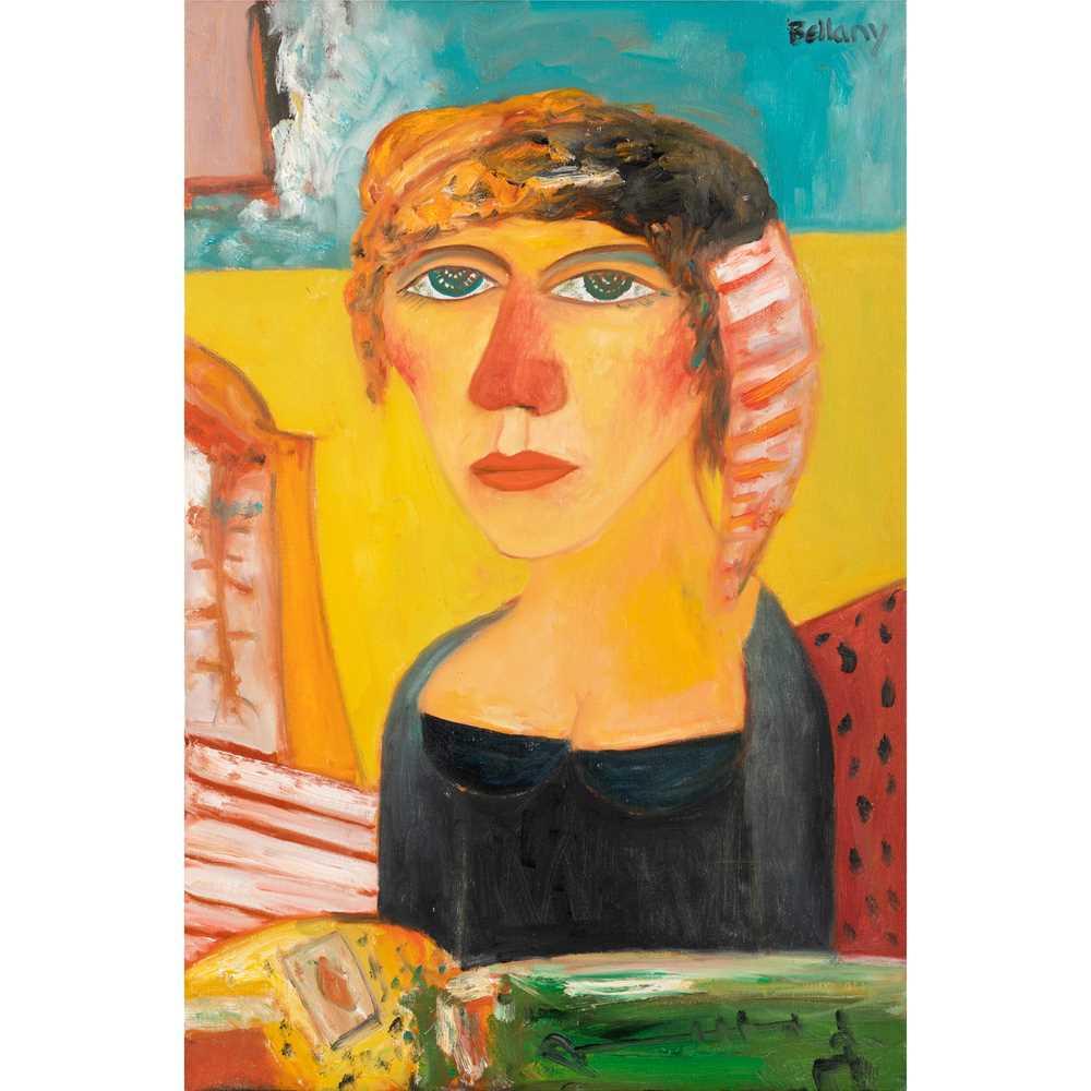 John Bellany C.B.E., R.A. (Scottish 1942-2013) Portrait of a Lady