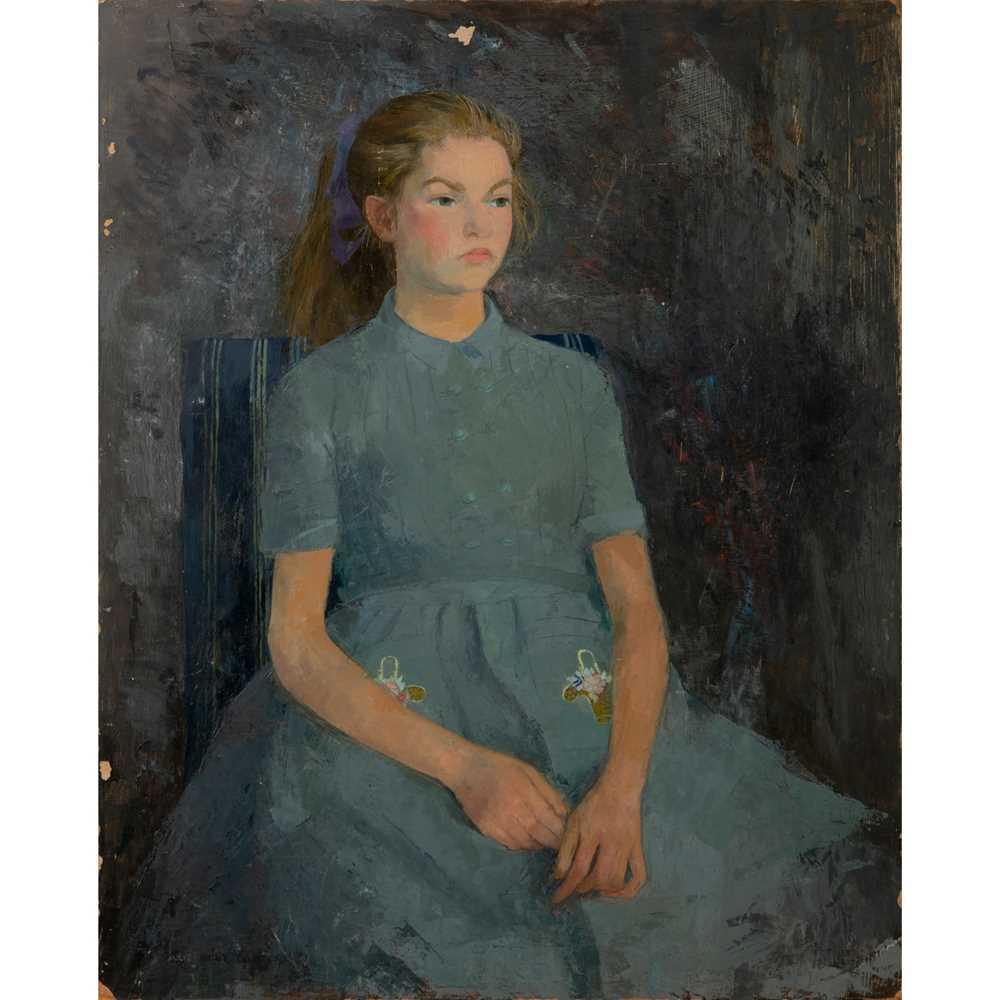 Heather Copley (British 1918-2001) Saskia, 1954