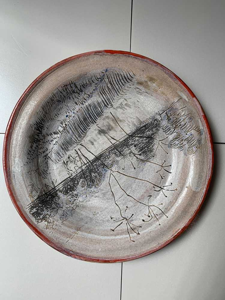 Quentin Bell (British 1910-1996) for Fulham Pottery Plate - Image 4 of 8