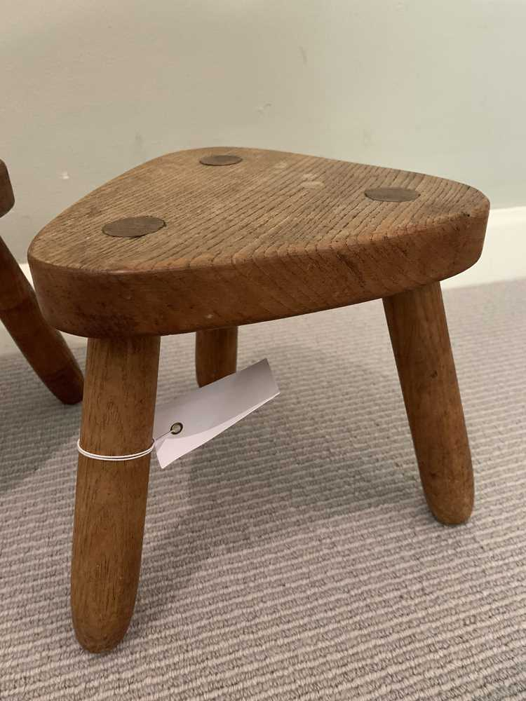 Robin Nance (British 1907-1990) of St Ives Pair of Stools - Image 8 of 10