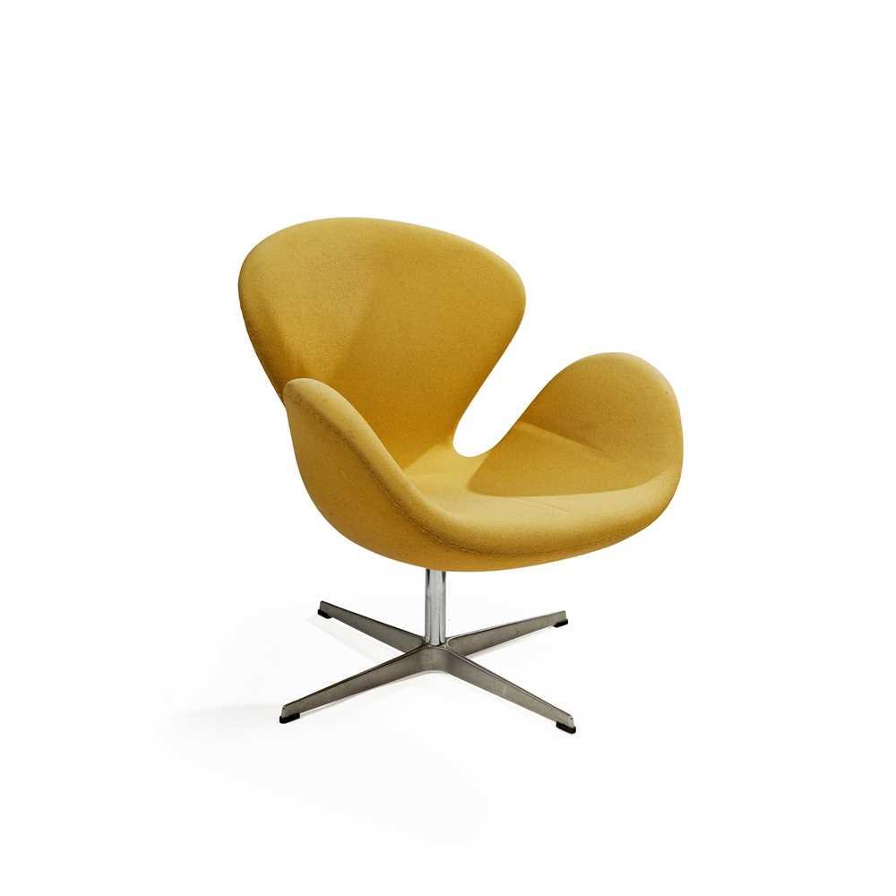 Arne Jacobsen (Danish 1902-1971) for Fritz Hansen Swan Chair, designed 1958 - Image 2 of 11