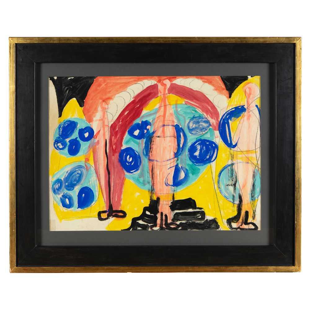 Gerald Wilde (British 1905-1986) Series B, No. 47, 1955 - Image 2 of 3