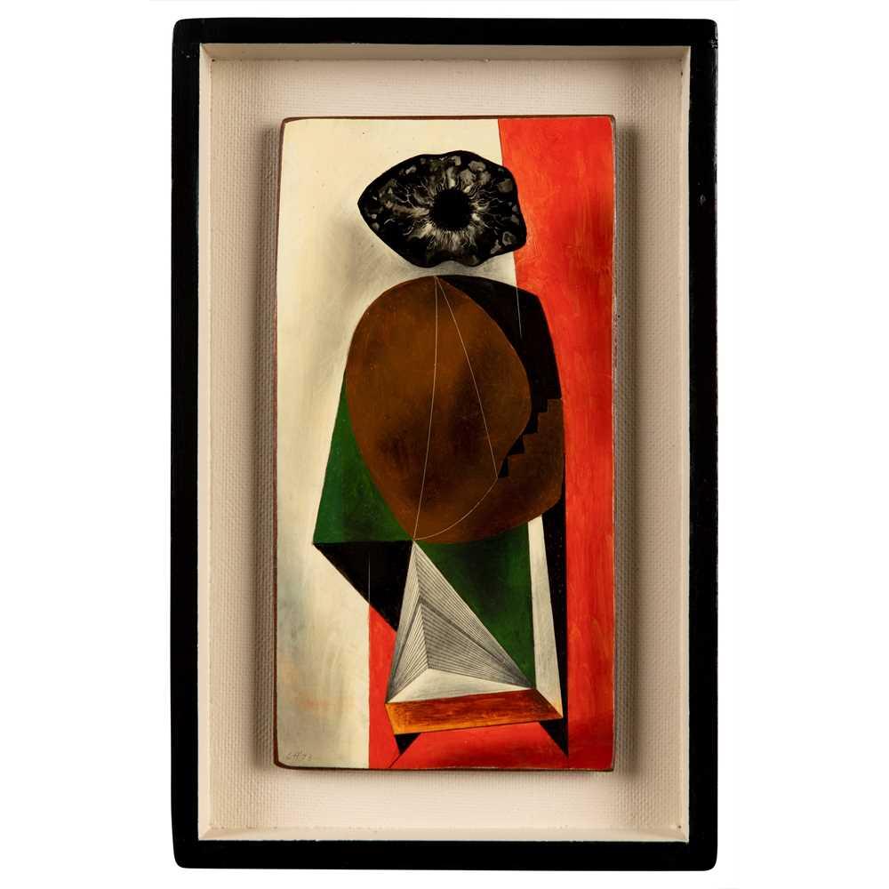 Clarke Hutton (British 1898-1984) Anthropomorphic Figure, 1973 - Image 2 of 3