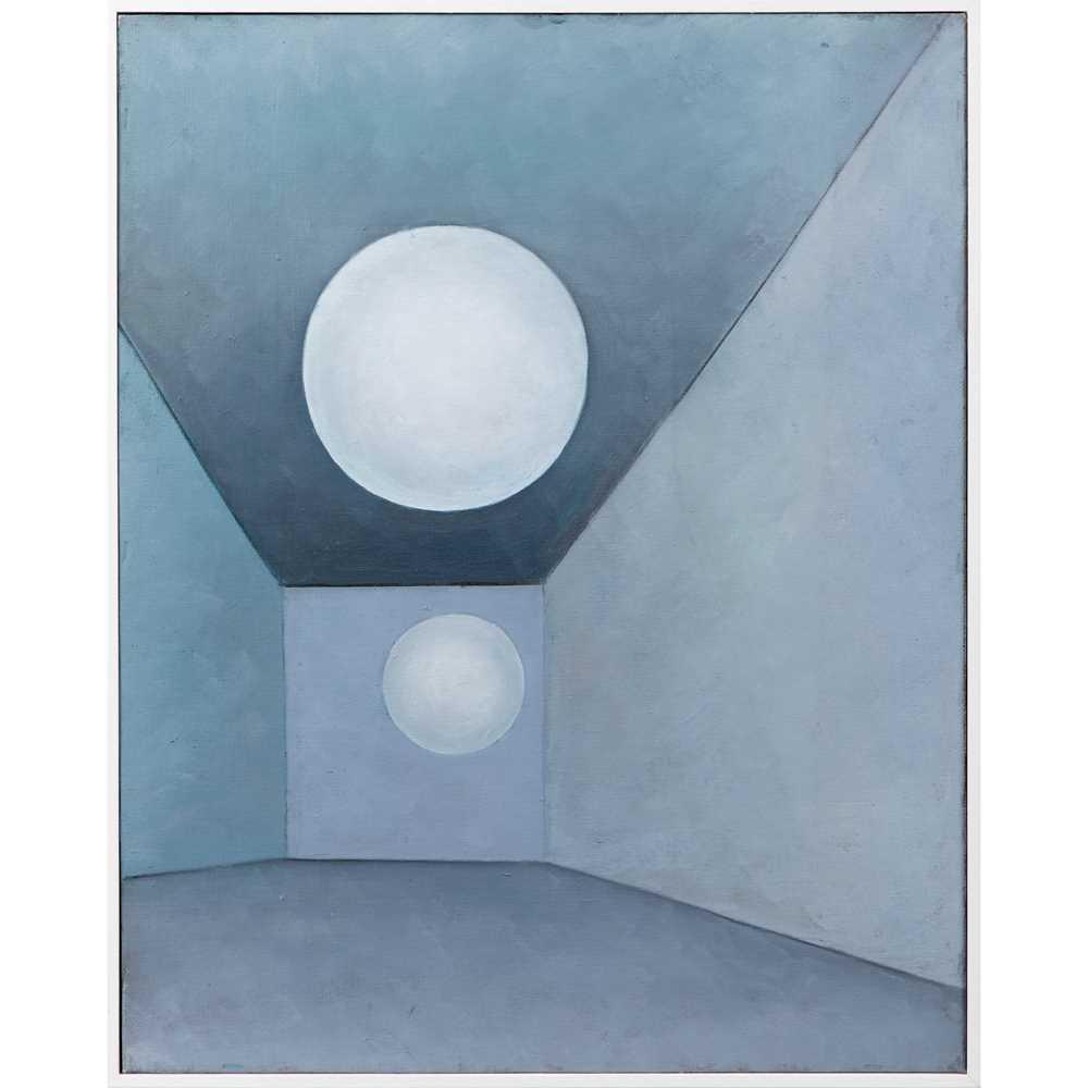 Paul Mount (British 1922-2009) The Waiting Room, 2003