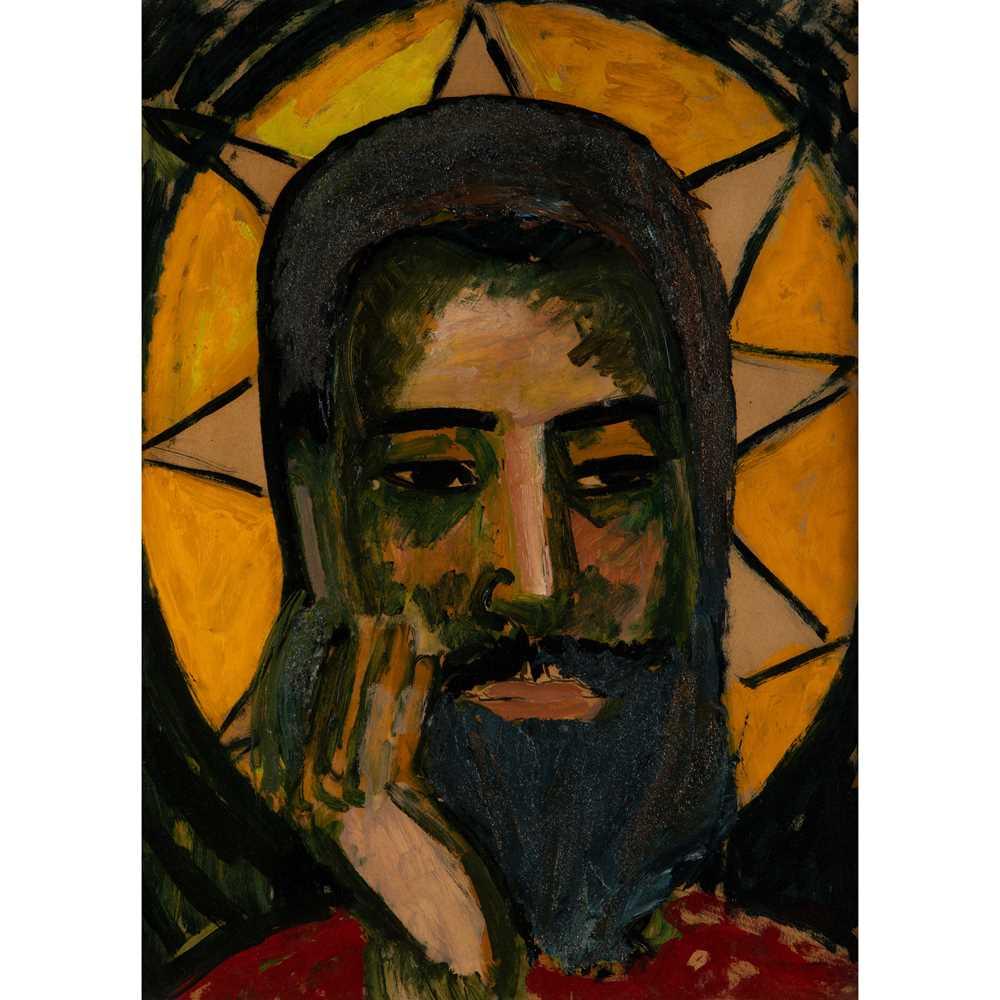 Edward Wolfe R.A. (South African/British 1897-1982) Head of Christ