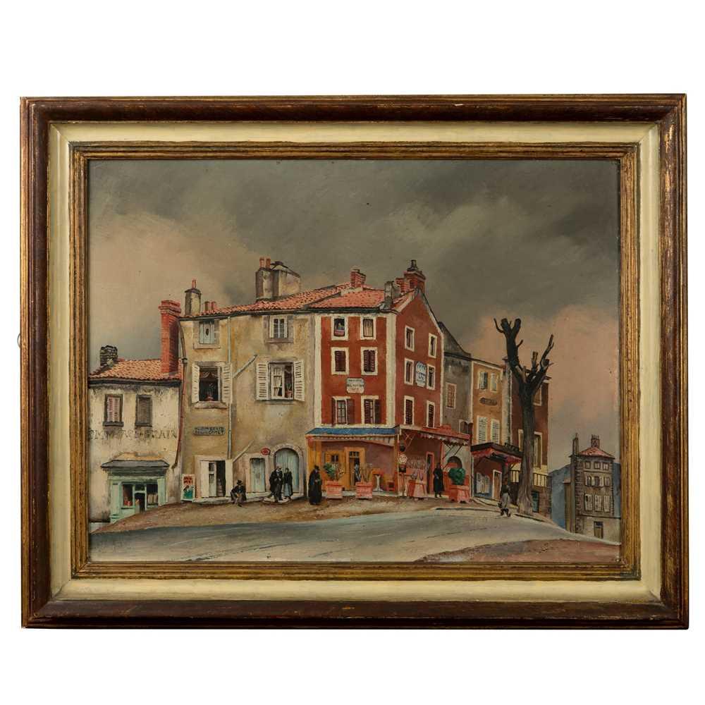 Fred Uhlman (German/British 1901-1985) Café Bel Horizon - Image 2 of 3