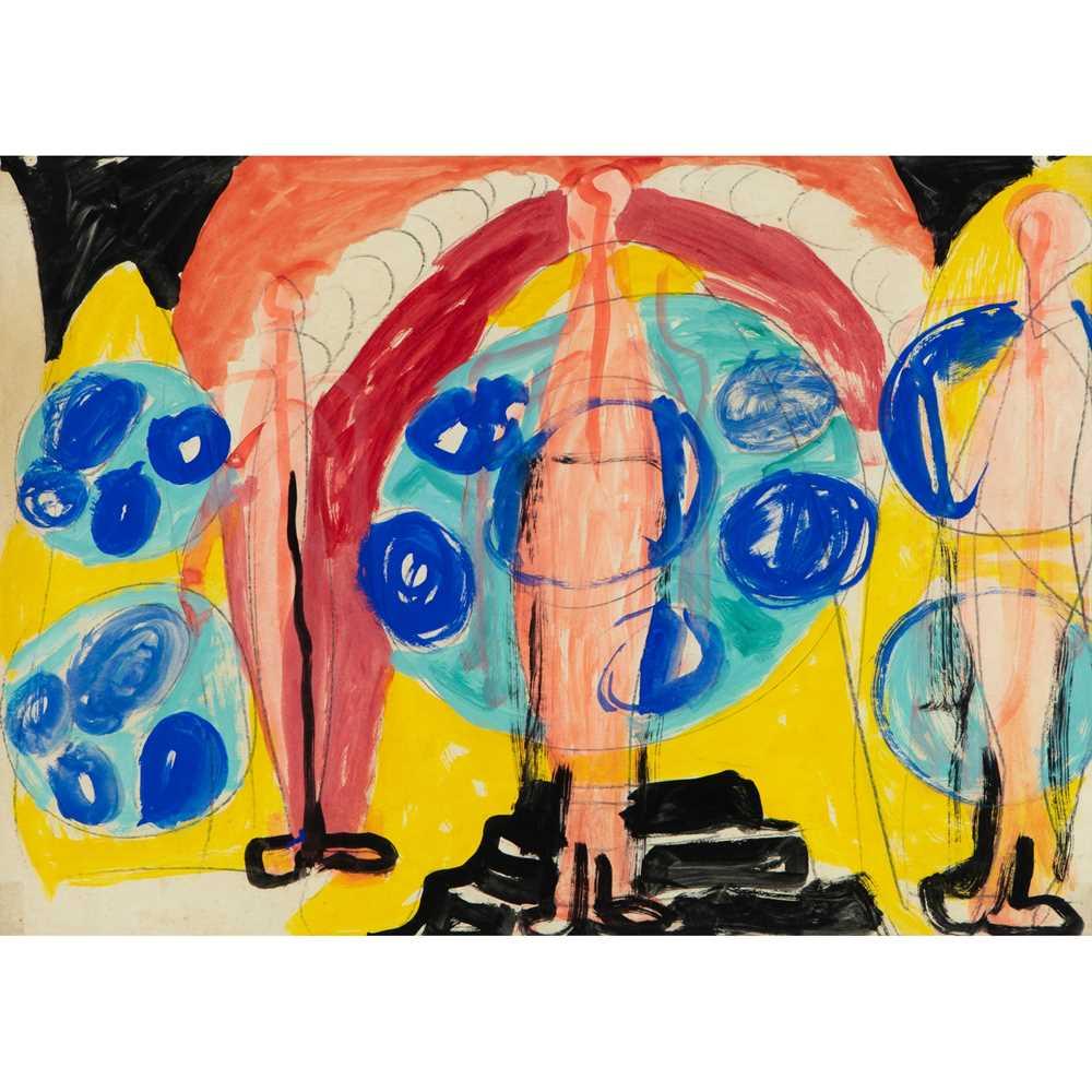 Gerald Wilde (British 1905-1986) Series B, No. 47, 1955