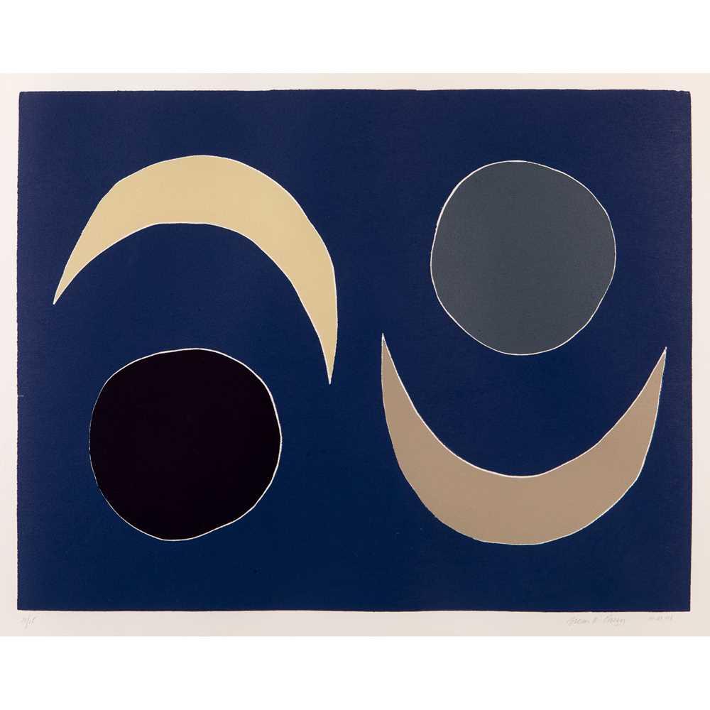 Breon O'Casey (British 1928-2011) Blue Moons, 2003