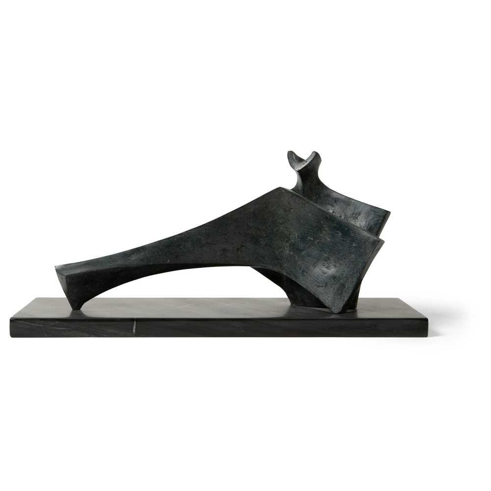 Stephen Clutterbuck (British 1932-) Two Piece Reclining Figure, 2003