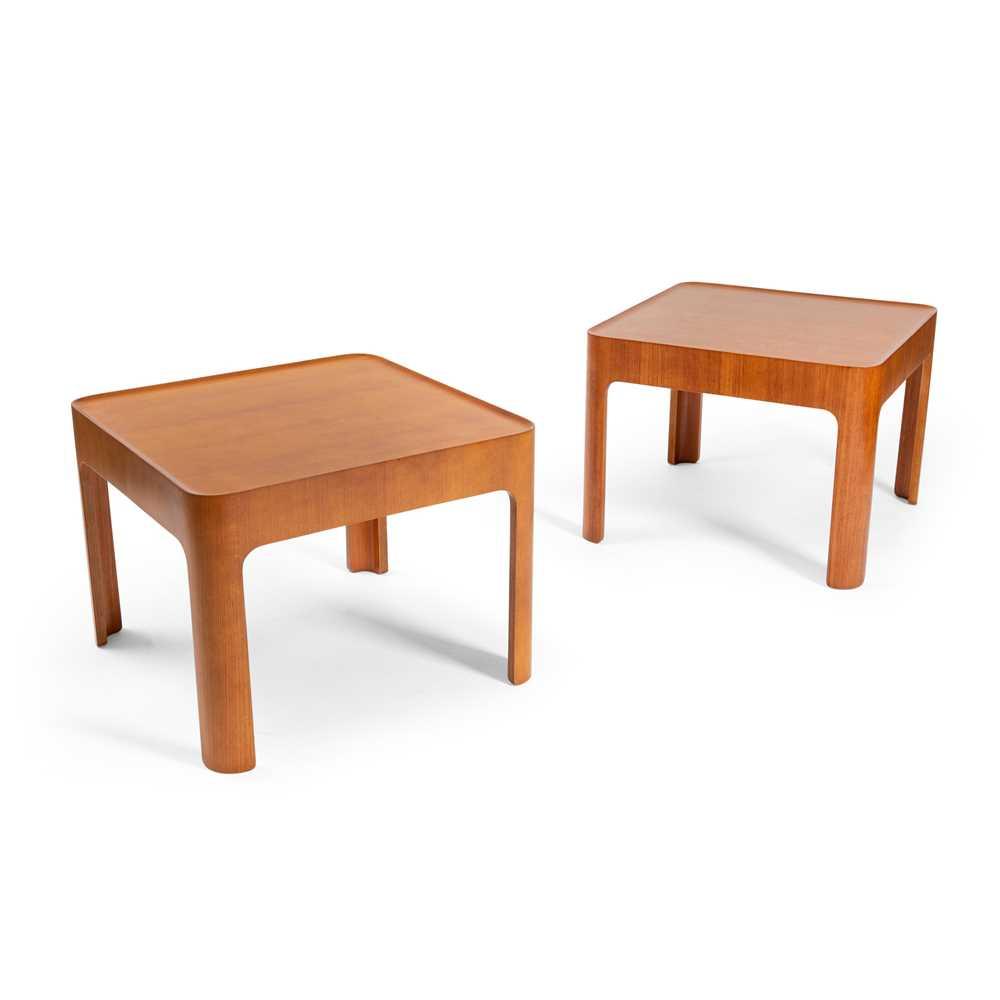 Isamu Kenmochi (Japanese 1912-1971) for Tendō Mokkō Japan Two Occasional Tables, circa 1966