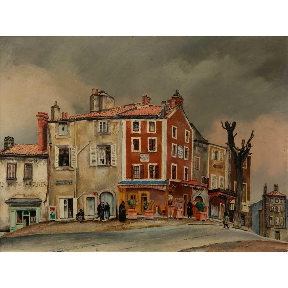 Fred Uhlman (German/British 1901-1985) Café Bel Horizon