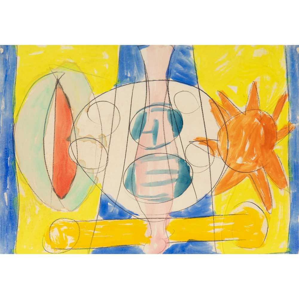 Gerald Wilde (British 1905-1986) Cosmic Man, Series B, No. 46