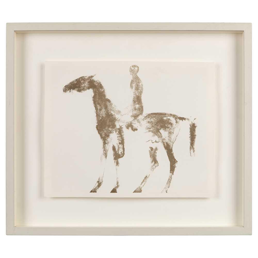 Dame Elisabeth Frink (British 1930-1993) Horse and Rider, 1970 - Image 2 of 3