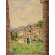 Duncan Grant (British 1885-1978) View Between Pillars, Asolo, Italy