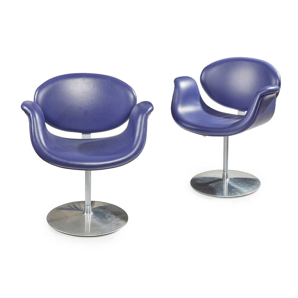 Pierre Paulin (French 1927-2009) for Artifort Pair of 'Tulip' Armchairs, 1960s
