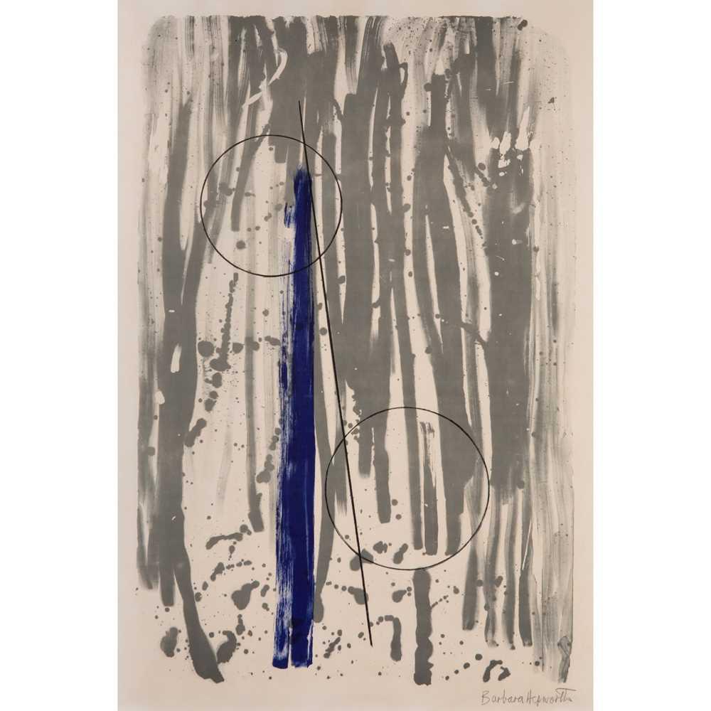 Dame Barbara Hepworth D.B.E. (British 1903-1975) Two Marble Forms (Mykonos), 1969