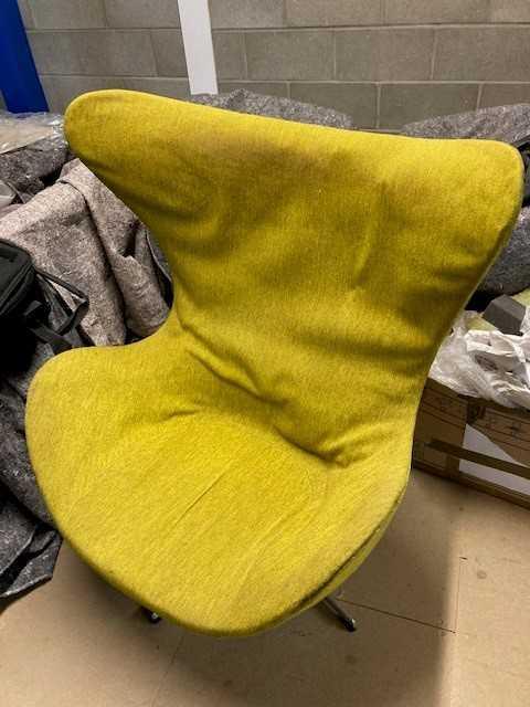 Arne Jacobsen (Danish 1902-1971) Egg Chair and Ottoman - Image 3 of 7