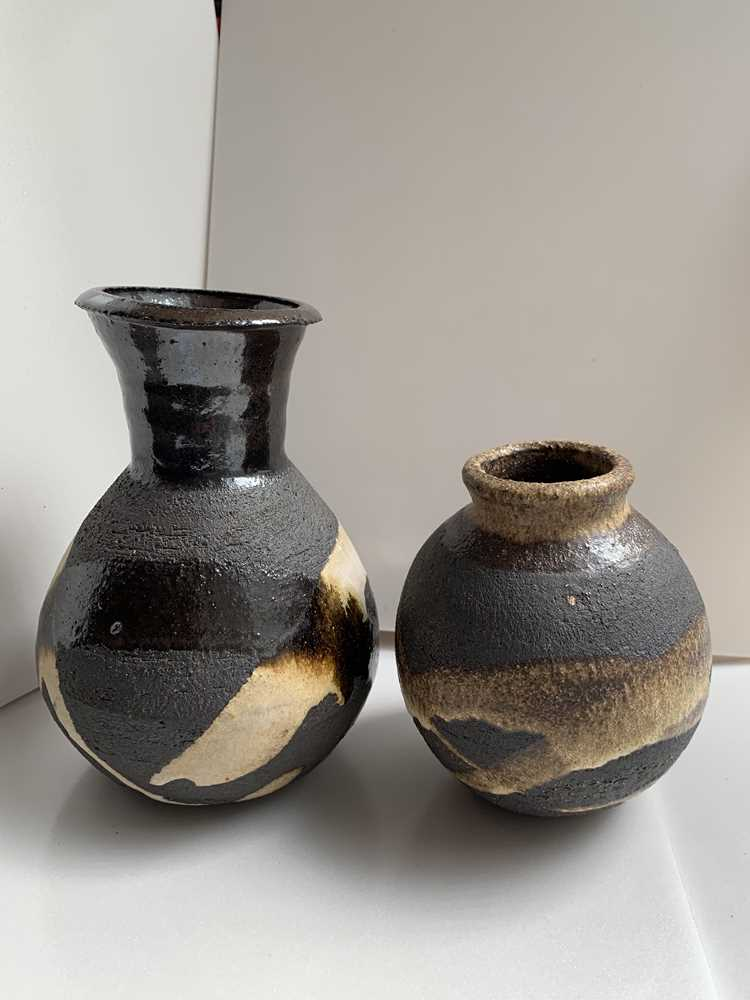 Janet Leach (American 1918-1997) at Leach Pottery Two Vases - Image 2 of 16