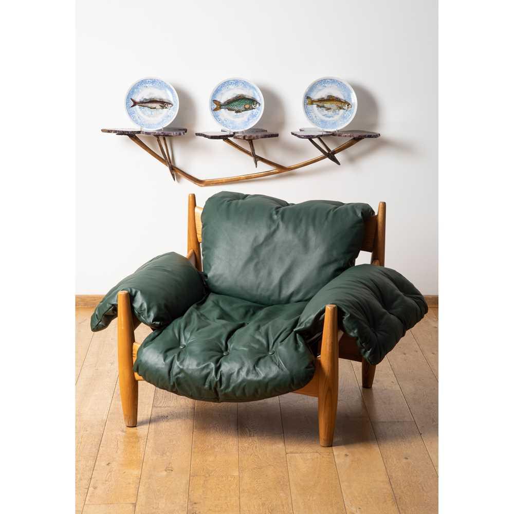 Sergio Rodrigues (Brazilian 1927-2014) 'Mole' Armchair, designed 1957 - Image 3 of 3