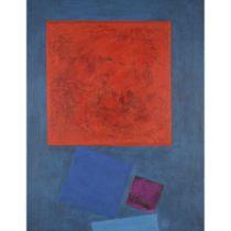 WILHELMINA BARNS-GRAHAM C.B.E. (BRITISH 1912-2004) RED AND VIOLET, 1961