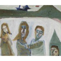 PATRICK HAYMAN (BRITISH 1915-1988) FAMILY SEASIDE, 1982