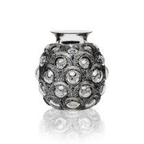 ‡ René Lalique (French 1860-1945) ANTILOPES VASE, NO. 875