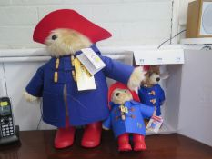 A Steiff limited edition Paddington The Movie Edition Bear, 664656, with certificate, boxed, 29 cm