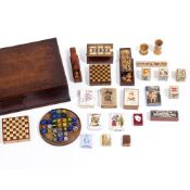 A COLLECTION OF EARLY 20TH CENTURY AND LATER GAMES