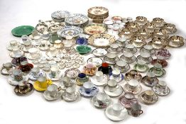 A COLLECTION OF VARIOUS CERAMICS to include a Victorian part tea set, a small group of Davenport