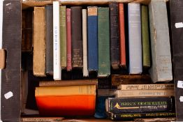 A COLLECTION OF OLD BOOKS to include The Golden Age by Kenneth Graham, Trimblerigg by Lawrence