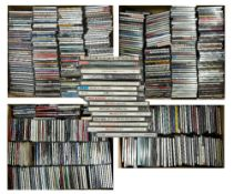 A LARGE COLLECTION OF JAZZ CDS artists including Miles Davies, John Hicks, Shirley Horn, Art Pepper,
