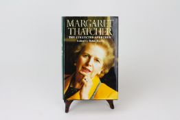 MARGARET THATCHER 'The Collected Speeches', edited by Robin Harris, first edition, signed in blue