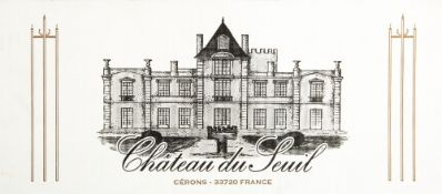 TWELVE BOTTLES OF CHATEAU DU SEUIL 2015 GRAVES At present, there is no condition report prepared for
