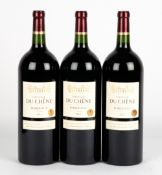 THREE MAGNUMS OF CHATEAU DU CHENE 2014 At present, there is no condition report prepared for this